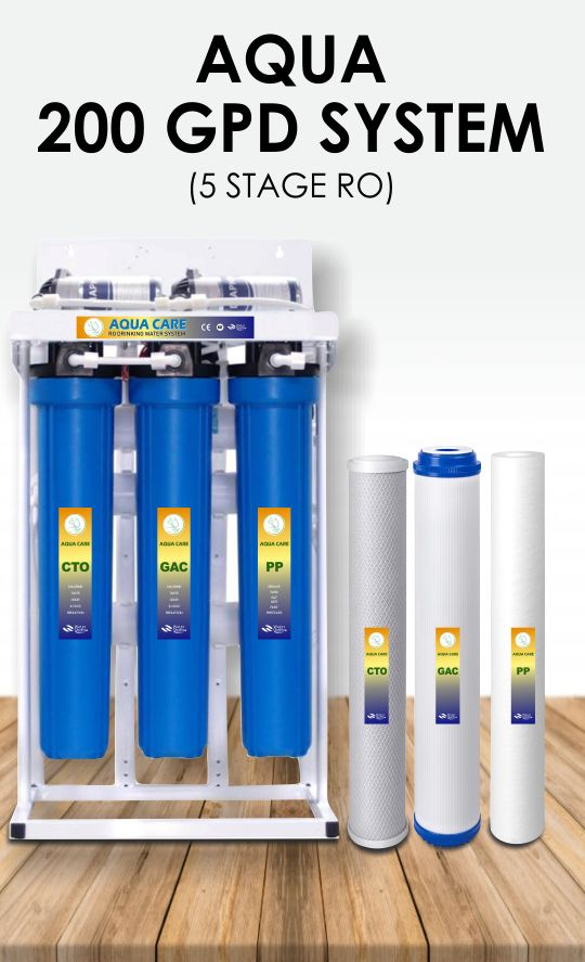 water filter aqua 200 gallons per day capacity water purifier system