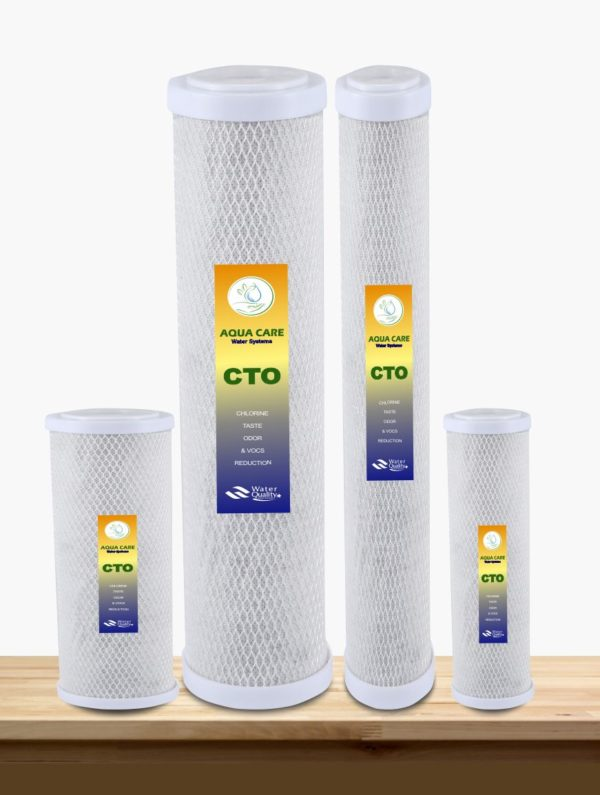 remove chlorine and chlorine ordur from water with the help of aqua care carbon block filter such as CTO Filter