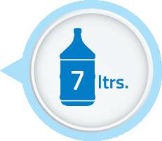 high storage 7 liter